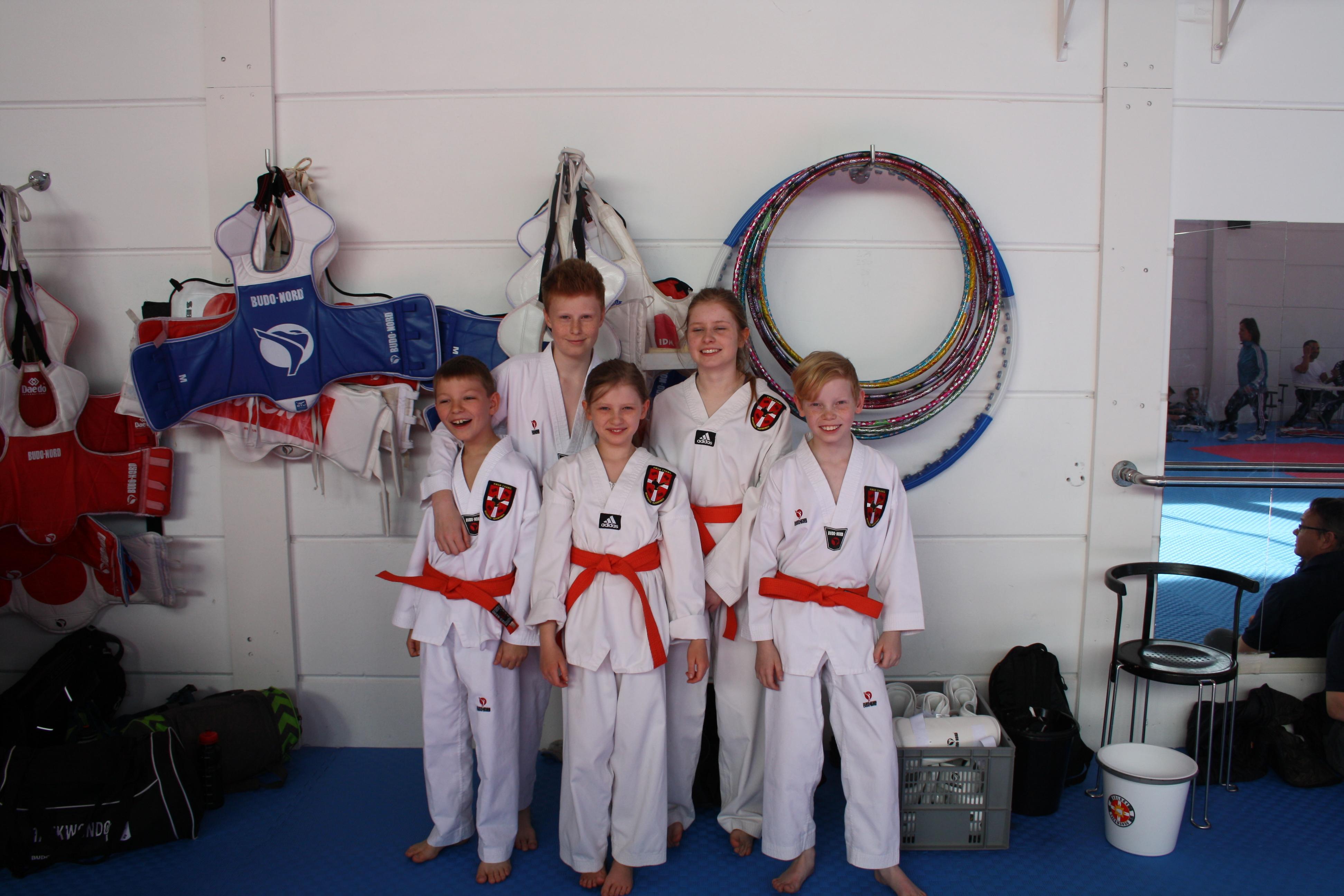 Bramsnæs Taekwondo til Venskabsstævne i Holbæk