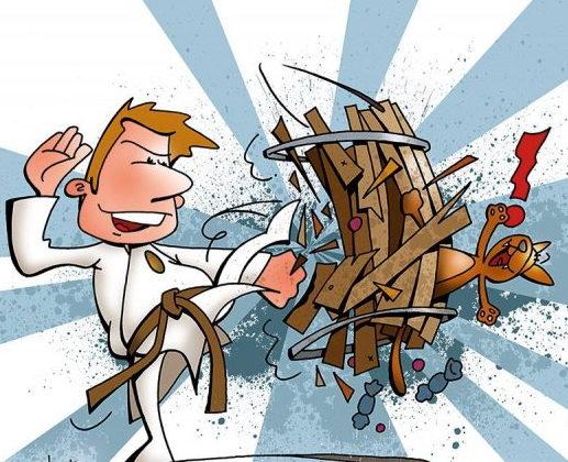 Tøndeslagning på Taekwondo manér